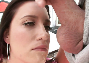 Kimberly Kane gets her soaking racy pussy used by hot guy