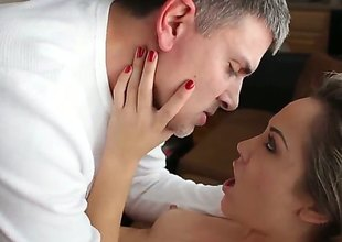 Kristina Rose and hot rafter Michael Stefano enjoy anal sex too much to stop