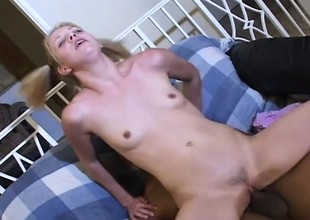 Well-graced floozy is teased plus pounded by amazing cranny Nimrod