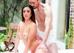 Hannah Shaw,Ben Kelly in A Sensual Touch Scene Scene