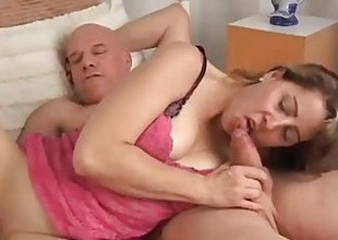 Cute MILF Christie is a hawt little fuck who can't live without transmitted to taste of cum