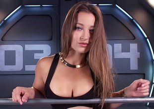 Amazing babe Dani Daniels and the gadgetry