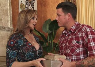 Julia Ann is a adored mom