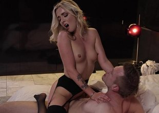 I paid Pornstar Karla Kush be proper of making love