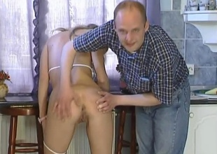 This horny hungarian golden-haired bombshell is joined by two males be advisable for some unrestrained 3 way action. She plays with herself a show then this babe drops chiefly touching here knees servicing the one and the other guys cocks, then Robert gets uppish knees and helps Angie suck off Sziszi. Once that guy is good and
