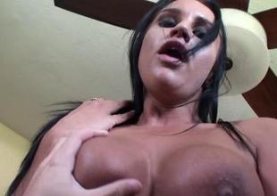 College hotty welcomes their way very 1st massive cock